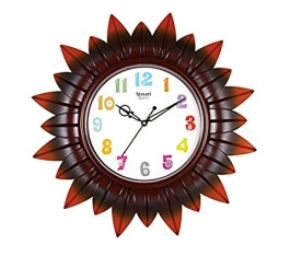 Classic Wall Clock Sq-1616a(brown)
