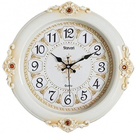 Vintage Wall Clock Sq-1501b(ivory)
