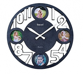 Wall Clock With Photoframe Sq-1414c(m.effect)