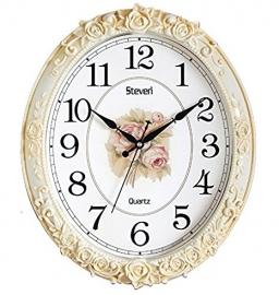 Vintage Wall Clock Sq-1403b(ivory)
