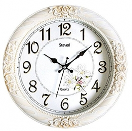 Vintage Wall Clock Sq-1402b(ivory)
