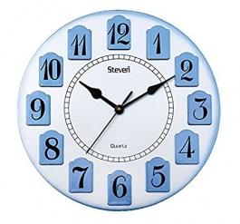 Classic Wall Clock Sq-1215d(blue)