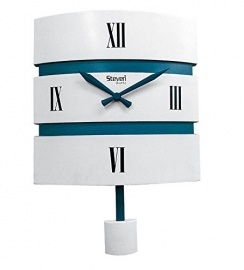Morden Pendulam Wall Clock Sq-1214c(white)