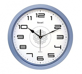Office Wall Clock Sq-1201g(blue)