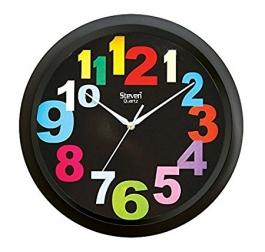 Office Wall Clock Sq-1201a(black)