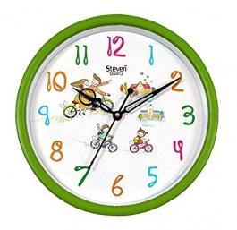 Office Wall Clock Sq-901e(green)