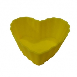 Helping Hand Silicon Heart Muffins 6 Pcs