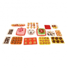 Helping Hand 20 Pieces Silicone Bakeware Set