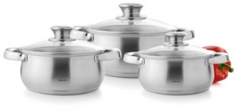 Steelcraft 6 Pc Cook And Serve Set