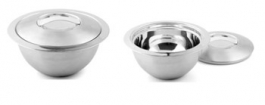 Stainless Steel Thermo Bowl : 1l