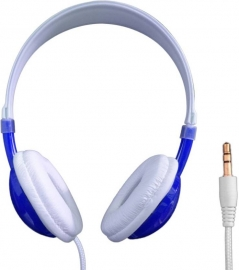 Ub-230 Wired Headphones  (blue,black,yellow On The Ear)