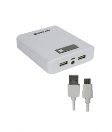 Erd White Power Bank 10400mah