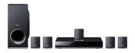 Sony Dvd Home Cinema System(dav-tz145)