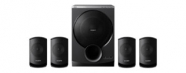 Sony Stereo Satellite Speaker Package (sa-d100)