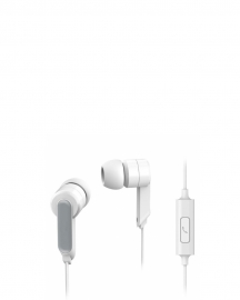 1405wt Canal Type Earphone With Mic White