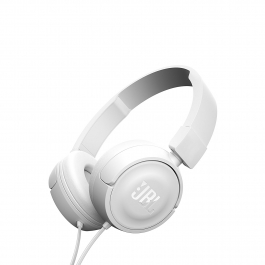 Jbl T450 On Ear Headphones(white)