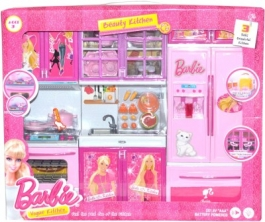 Barbie Vogue Beauty Kitchen Cooking Fun Kitchen---multi Color---toy, Play (large)