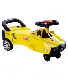 Ferrari Twist Car - Yellow
