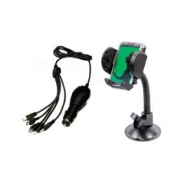 Universal Car Charger With Mobile Stand