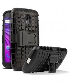 Moto E3 Power Defender Cover