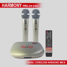 Karaoke Harmony Pro With Dual Wireless Microphone