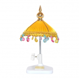 Wenyou Gold Umbrella For God And Idol - Car Dashboard, Home Use And Officeuse
