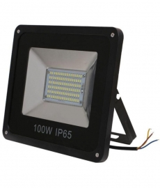 Gi-shop Ip-65  Black Led Flood Light 100w Pack Of 1