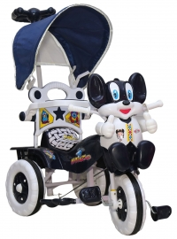 Amardeep Baby Tricycle - Navy Blue (1 - 4 Yrs)