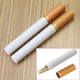 Cigarette Shaped Toothpick Holder (set Of 2 Pcs.)