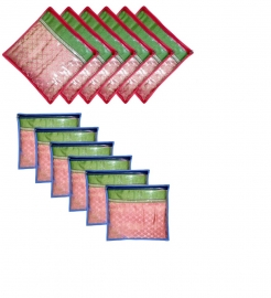 Saree Cover Bag (set Of 12 Covers)