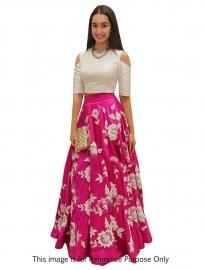 Samarpan Fashion Arohi Pink Designer Lehenga