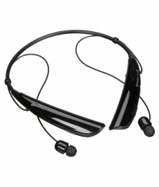 Gio Zone Hbs-730 Bluetooth Headset - Black