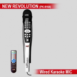 Karaoke New Revolution  With Remote  6620 + Songs Karaoke Mic System Player