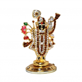 Shreenathji Statue 6.5cm X 5.0cm For Car Dashboard And Table Top Use.