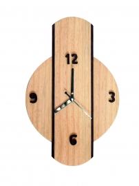 Handmade Analog Wooden Wall Clock