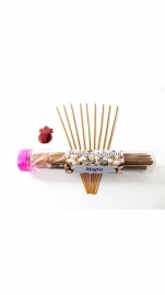 Mogra Fragrance - Shree Hari Incense Sticks (home Made-agarbatti ) - 100gm. Free : Agarbatti Stand