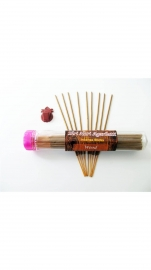 Wood Fragrance - Shree Hari Incense Sticks (home Made-agarbatti ) - 100gm. Free : Agarbatti Stand