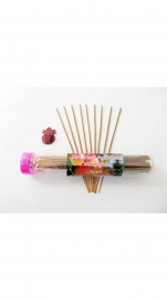 Apple Fragrance - Shree Hari Incense Sticks (home Made-agarbatti ) - 100gm. Free : Agarbatti Stand