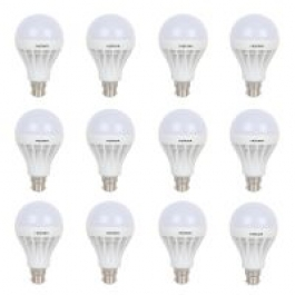 Gi-shop 3w,5w,7w,9w,12w,15w Led Bulb Combo Pack Of 12
