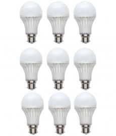 Gi-shop 15w Led Bulb Pack Of 9