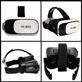 Vr Box - Vr Virtual Reality Glasses Google Cardboard 3d Headset For Smart Phones