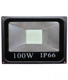 Glowlite 100w Black Led Flood Light Pack Of 1