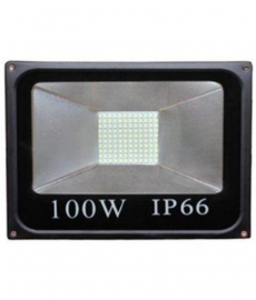 Gie 100w Black Led Flood Light Pack Of 1