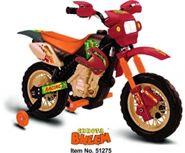 Orange Chhota Bheem Super Bike