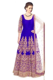 New Design Matrix Royal Blue Dress