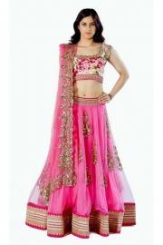 Womens Pink Lehenga