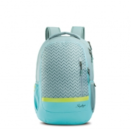 Skybags Lazer 01 Grey Laptop Backpack