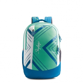 Skybags Pogo Extra 01 Green Laptop Backpack (green)