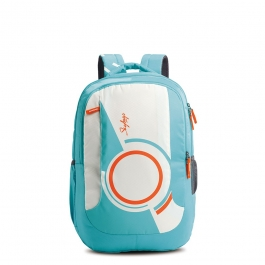 Skybags Pogo Extra 03 Teal Backpack