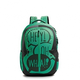 Skybags Pogo Plus 02 Green Backpack